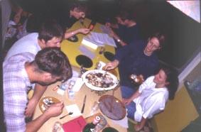 Az egyesület mákos gubás taggyűlése