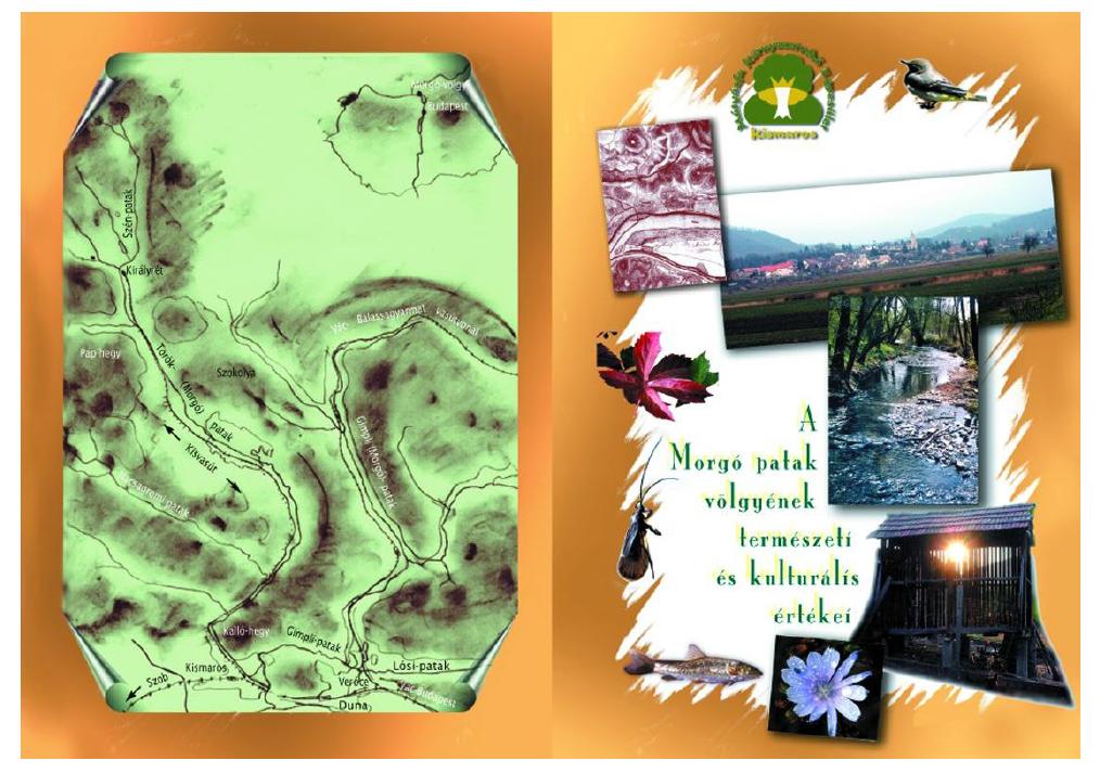 Dukay Igor - Néder Katalin: A Morgó-patak völgyének természeti és kultúrális értékei (2003) - külső borító